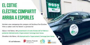El cotxe elèctric compartit arriba a Esporles!